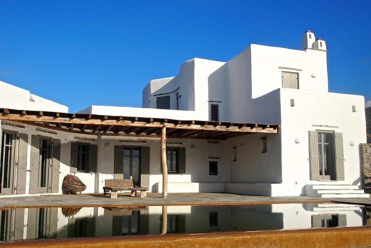 Drios sud paros plage r sidence en pierre de luxe for Acheter une maison dans les cyclades