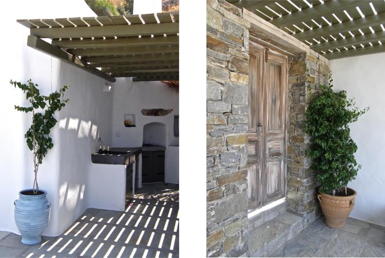 Luxe traditionnelle pierre residence taxiarchaki parikia for Acheter une maison dans les cyclades
